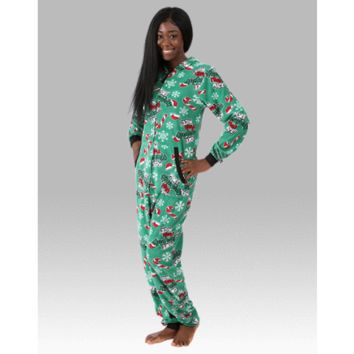 More Naughty Than Nice Unisex Adult One Piece Suit