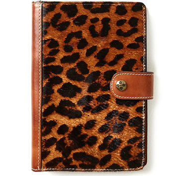Patricia Nash Leopard Chieti Leather Agenda | Dillards