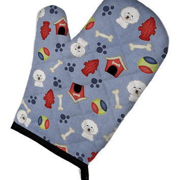 Dog House Collection Bichon Frise Oven Mitt BB3996OVMT