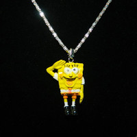 Sponge Bob necklace