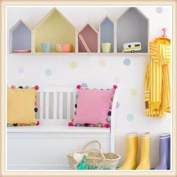 2 Piece Doll house Floating Shelves