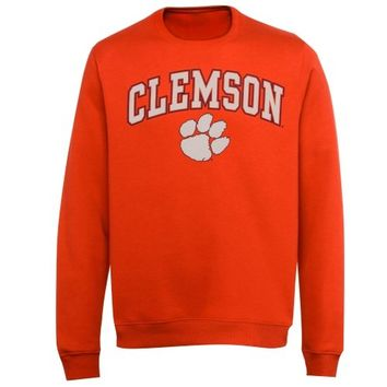 Clemson Tigers Midsize Classic Crew Sweatshirt - Orange