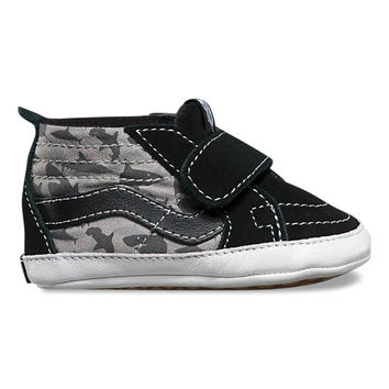 Infant Reef Sharks Sk8-Hi Crib | Shop Toddler Shoes at Vans