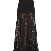 Billabong Western Rider Maxi Skirt Black - Zappos.com Free Shipping BOTH Ways