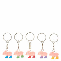 4 Piggy Best Friends Key Rings
