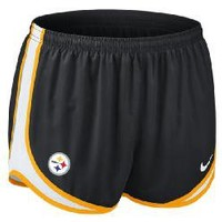 Pittsburgh Steelers Nike Women's Dri-Fit Tempo Short - Official Online Store