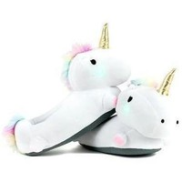 SMOKO Unicorn Light Up Kids Slippers