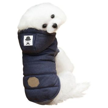 Super Cute Cotton/Polyester Dog Hoodie