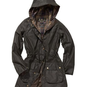 Barbour Winter trend plus velvet down jacket