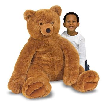 Melissa & Doug Toys - Jumbo Plush Teddy Bear