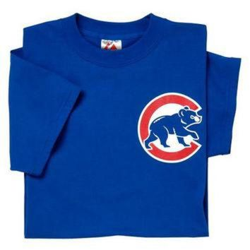 Chicago Cubs (ADULT LARGE) 100% Cotton Crewneck MLB Officially Licensed Majestic Major
