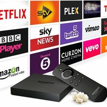 Amazon Fire TV Box  Fully Loaded
