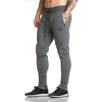 Men's AthleticPants Workout Cloth Sporting Active Cotton Pants Men Jogger Pants Sweatpants Bottom Legging