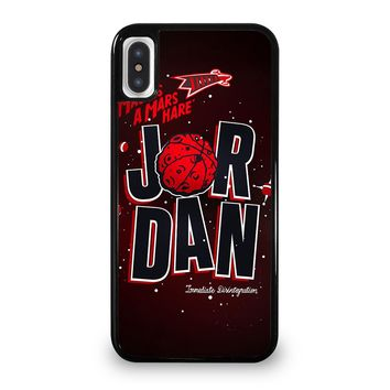 MICHAEL JORDAN AIR iPhone 5/5S/SE 5C 6/6S 7 8 Plus X/XS Max XR Case Cover