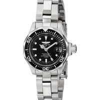 Invicta Pro Divers 200M Quartz Black Dial 8939 Women's Watch