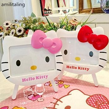 "New 4"" x 6"" Hello kitty photo frame baby photo frame cartoon frame yey-A32C"