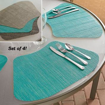 Set/4 Wedge Placemats @ Fresh Finds