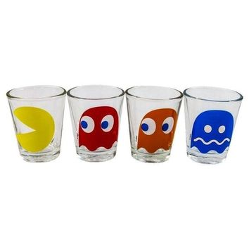 Pac-Man - Characters Shot Glass Set