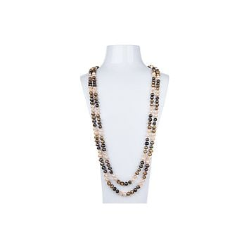 Multi-Color Freshwater Pearl Long Necklace 7mm