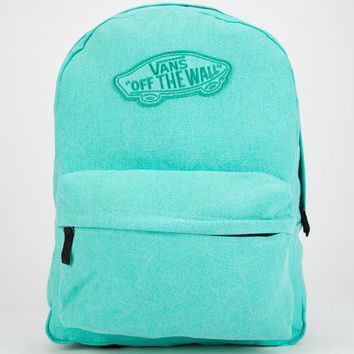 Vans Realm Backpack Teal One Size For Women 25565003401