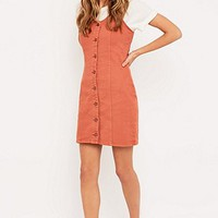 Minkpink Wild at Heart Button Dress - Urban Outfitters
