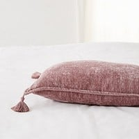 Stevie Chenille Bolster Pillow | Urban Outfitters