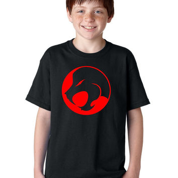 Jesus Lion Roar Comics Manga Logo Christian T-Shirt for Kids