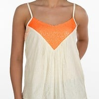 Miss Me Pieced Trapeze Tank Top