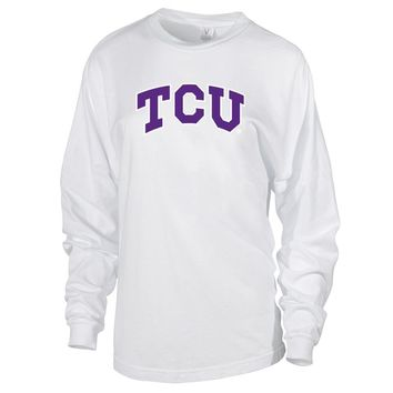 NCAA TCU Horned Frogs RYLTCU06 Women's Long Sleeve Spirit Jersey Tee