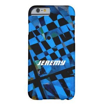 abstract geometric design modern style custom case barely there iPhone 6 case
