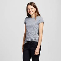 Women's Short Sleeve Essential Crew Tee Shirt Triblend - Mossimo Supply Co.™ : Target