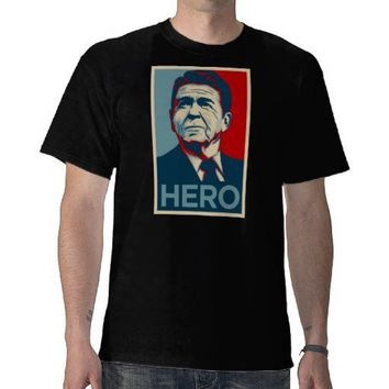 Ronald Reagan Hope Hero Poster - Reagan Bush 84 Tee Shirts from Zazzle.com