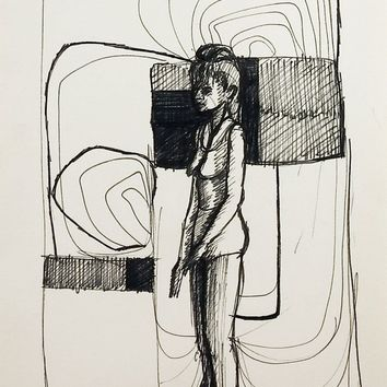 Abstract Figure Drawing