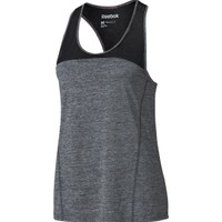 Reebok Women's Mesh Back Run Tank Top