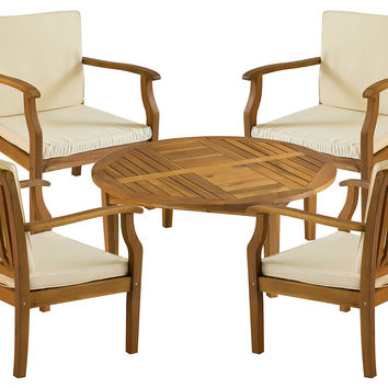 Outdoor Orleans Coffee Set, Natural, Outdoor Dining Sets