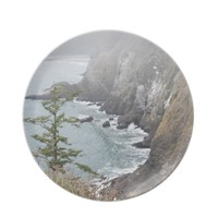 Misty Seascape Plate