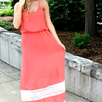 Lace Enchantment Maxi