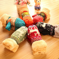 Thicken Lovely Korean Knit Cycling Gloves [9184247364]