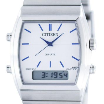 Citizen Quartz Alarm Chronograph Analog Digital JM0540-51A Men's Watch