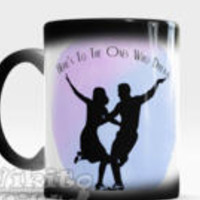 La La Land Coffee Mug - Choose between Color Changing Mug or White Mug, Quote cup - Here's to the Ones who Dream, La La Land Gift