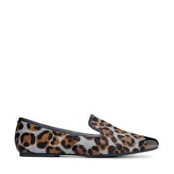 Ted Baker Searey Animal Print Flat Shoe