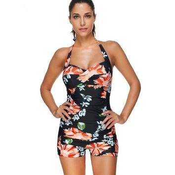 One Piece Bathing Suit Sexy Bather Bathing Suit  Indoor Swimsuit Plus Size Swimwear Female Swimming Suits For Women Push Up May Bodysuit Suit KO_9_1