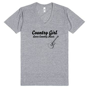 Country Girl Loves Country Music