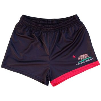 California Flag Womens & Girls Sport Shorts by Mile End
