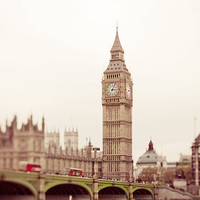 London Photography, Big Ben - London Skies, 8x8
