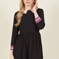 Trompe l'Oeil Loyalty Mini Dress