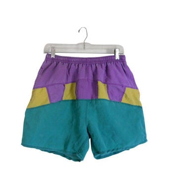 80s Swim Trunks Men Swim Trunks Men Swimsuit Surfer Clothing Board Shorts Surf Clothes 90s Surf Shorts Men Swimwear Men Swim Suits Clothing