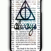 iPhone 6 Plus Case - Rubber (TPU) Cover with Always Harry Potter Rubber Case Design