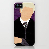 Harry Potter I Minimalist Poster - Draco iPhone Case by Jessica Slater Design & Illustration | Society6