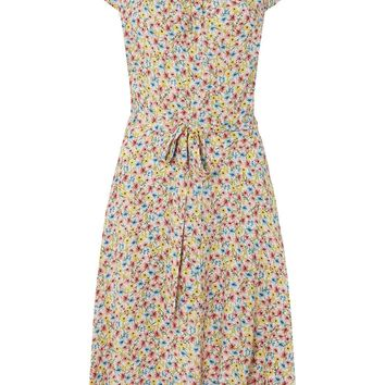 **Billie & Blossom Tall Multi Coloured Floral Print Skater Dress | Dorothyperkins